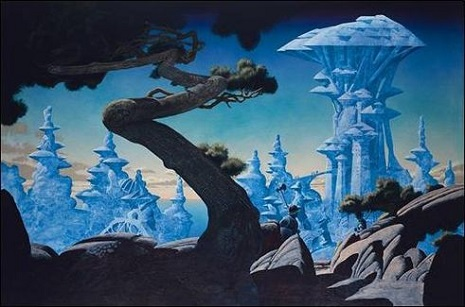"Freyja's Castle,""  finished on daughter Freyja's first birthday, 1987"