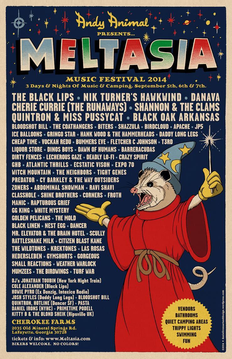 Meltasia Festival Poster