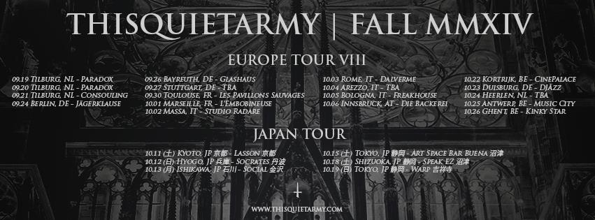 thisquietarmy tour dates