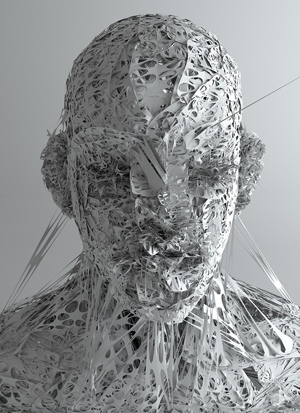 Meet The Man Behind These Psychedelic CGI Masks