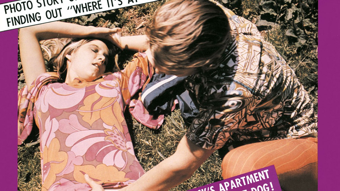 Cover of Where Its At in 1970, in all its grammatically incorrect, considerably creepy glory.