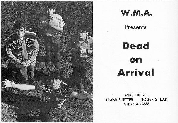 Psych of the South: Dead on Arrival's 'Run Hide Get Away' (1969)