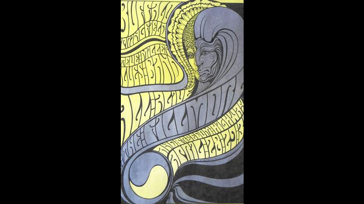 Psychedelic Rock Posters Of '60s, '70s At Lily Pad Gallery