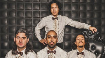 Latin psych-rock outfit Chicano Batman premiere 'Black Lipstick'