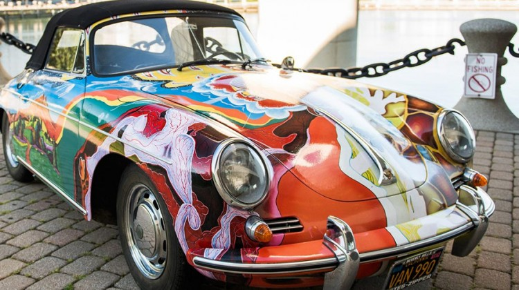 Janis Joplin's Psychedelic 1965 Porsche 356 Cabrio Heads to Auction in December