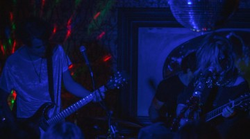 """Blue Christmas"" at Dirty Laundry - Magic Wands"