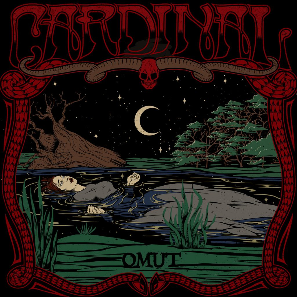 Mysterious psychedelic doom band CARDINAL released last week on bandcamp via CSBR Records